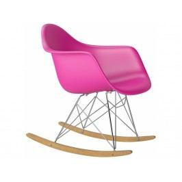 Designové houpací křeslo RAR, růžová Srar07708 CULTY +
