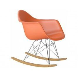 Designové houpací křeslo RAR, oranžová Srar07707 CULTY +