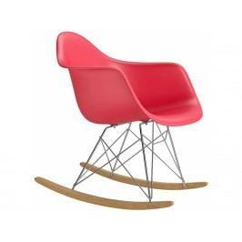 Designové houpací křeslo RAR, červená Srar07703 CULTY +