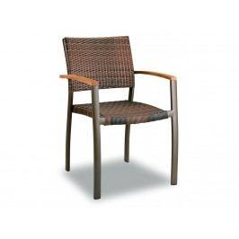 Zahradní designová židle Clar, ratan GP12WK Garden Project