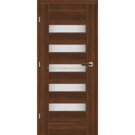 ERKADO Interiérové dveře MAGNÓLIE 1 100/197 P ořech 3D GREKO / bílý 3D GREKO Dveře